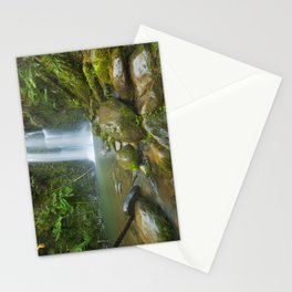 III - Rainforest waterfalls, Beauchamp Falls, Great Otway NP, Victoria, Australia Stationery Cards