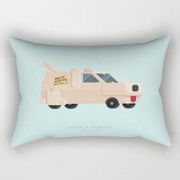 Dumb and Dumber  | Famous Cars Rectangular Pillow