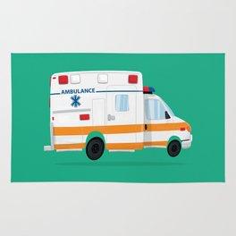 Cute Ambulance Rug