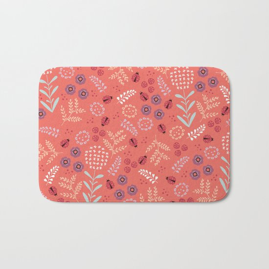 Little Ladybugs Bath Mat