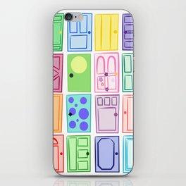 Monster's Inc. Doors iPhone Skin