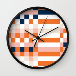 Connecting lines 1 Wall Clock