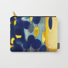 GLAM CIRCLES #Blue #1 Carry-All Pouch