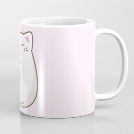 Ice cream lover chubby cat Coffee Mug