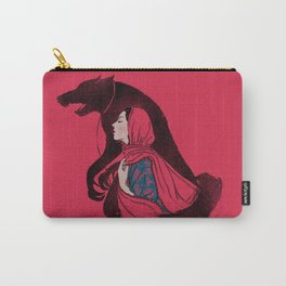 Taming of the wolf Carry-All Pouch