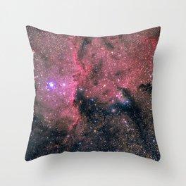 Nebula (NGC 6188) Throw Pillow