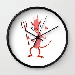 Devil Diablo Wall Clock