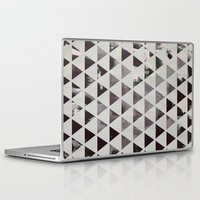 triangles Laptop & iPad Skins featuring triangles. by Georgiana Paraschiv