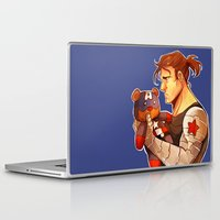 bucky Laptop & iPad Skins featuring Bucky by zombietonbo