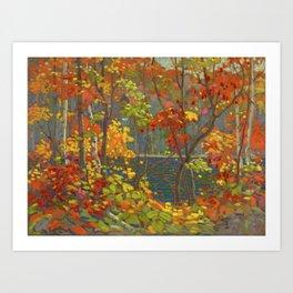 Tom Thomson The Pool 1915-1916 Canadian Landscape Artist Art Print