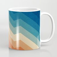 retro Mugs featuring Barricade by Tracie Andrews