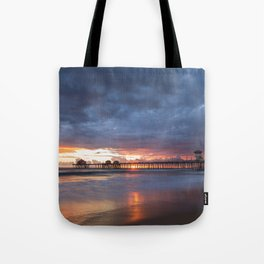 Fall Sunset Tote Bag
