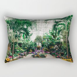 The Main Greenhouse Rectangular Pillow