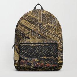 China Three Gorges Dam Artistic Illustration Snake Style Backpack