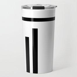 minimal Geometric #1 Travel Mug