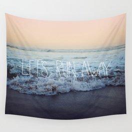 Let's Run Away x Arcadia Beach Wall Tapestry