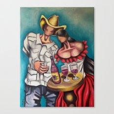 Cuando estamos solos (When we are along) Canvas Print
