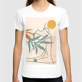 Minimal Line in Nature II T-shirt
