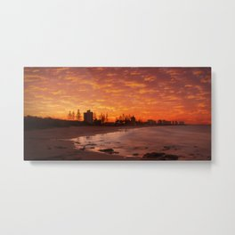 Alexander Head sunset Metal Print