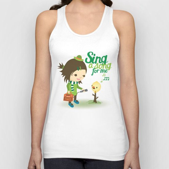 Balloon Tree Song Unisex Tank Top