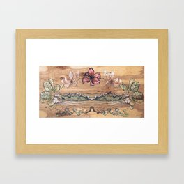 Good Tidings Framed Art Print