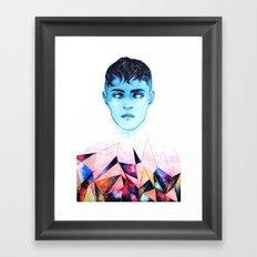 FRAGMENT HEARTS Framed Art Print