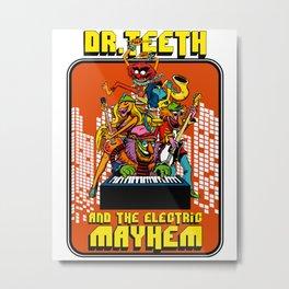 Dr Teeth 1 Metal Print