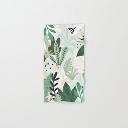 Into the jungle II Hand & Bath Towel