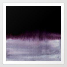 Squall Monochrome Art Print