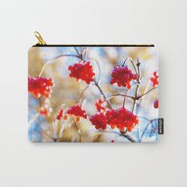 Arrowwood Berries Carry-All Pouch