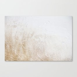 Gold Glitter Detail Canvas Print