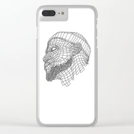 Basketball King Clear iPhone Case