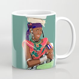 Mother and Child 4 - Benin Lady and Child  Coffee Mug