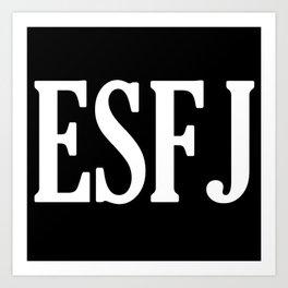 ESFJ Personality Type Art Print