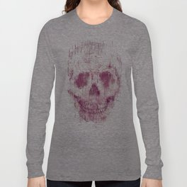 skeleton head Long Sleeve T-shirt