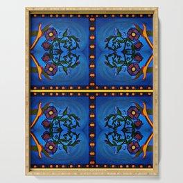 Los Palomas Symmetrical Art4 Serving Tray