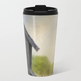 Little Bits Of Good - Vintage Art Travel Mug