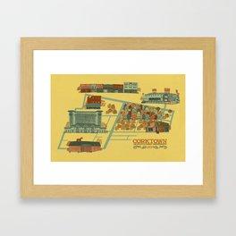 Corktown Framed Art Print