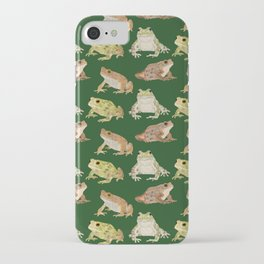 Toads iPhone Case