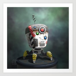 Bot Art Print