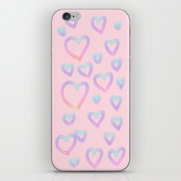 I Left My Heart In The 80's iPhone Skin