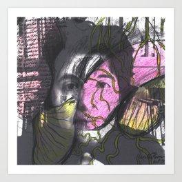 Soul portrait I Art Print