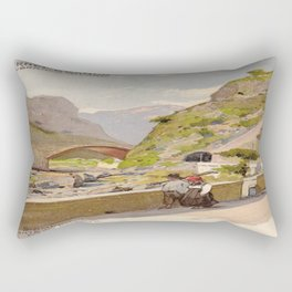 Vintage poster - Fernet-Branca Rectangular Pillow
