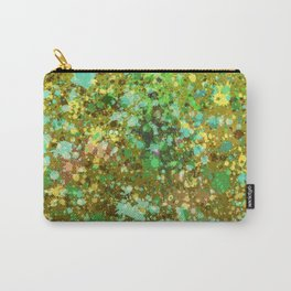 Colorful Paint Splatter Splat Rainbow Carry-All Pouch