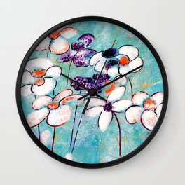 Finding Beauty in Chaos Wall Clock