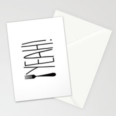 Fork Yeah! Stationery Cards