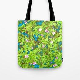 wild flower garden Tote Bag