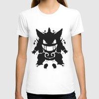 gengar T-shirts featuring Who's That Inkblot?  It's Gengar! by DelverStudios