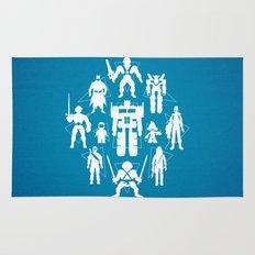 Plastic Heroes Rug
