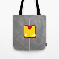 Marshmallow Iron Man Tote Bag